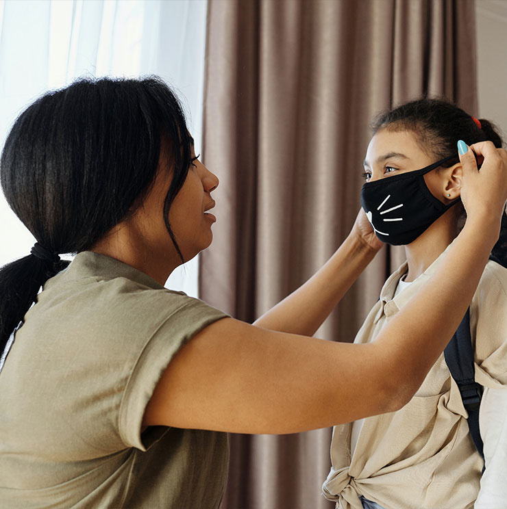 Teaching Safety Smarts: How to Wear a Mask